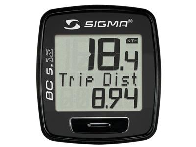 Sigma Sport - Cykelcomputer BC 5.12 - 5 funktioner