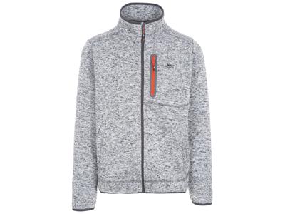 Trespass Bingham - strikket fleece-genser - grått