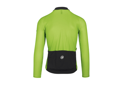 Assos Mille Jersey GT - Cykeltrøje m. lange ærmer - Hi-Vis grøn