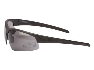 BBB Impress BSG-58 - Løbe- og cykelbrille - 3 sæt linser - Matsort