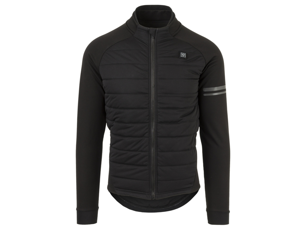 AGU Deep Winter Heated Jacket - Cykeljakke med varmezoner - Sort - Str. XL