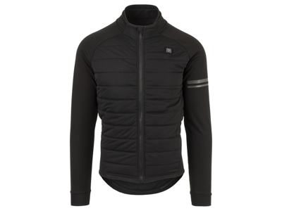 AGU Deep Winter Heated Jacket - Cykeljakke med varmezoner - Sort - Str. 3XL