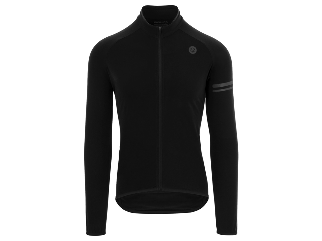 Image of   AGU Essential Thermo Jersey - Cykeltrøje L/Æ - Sort - Str. 3XL