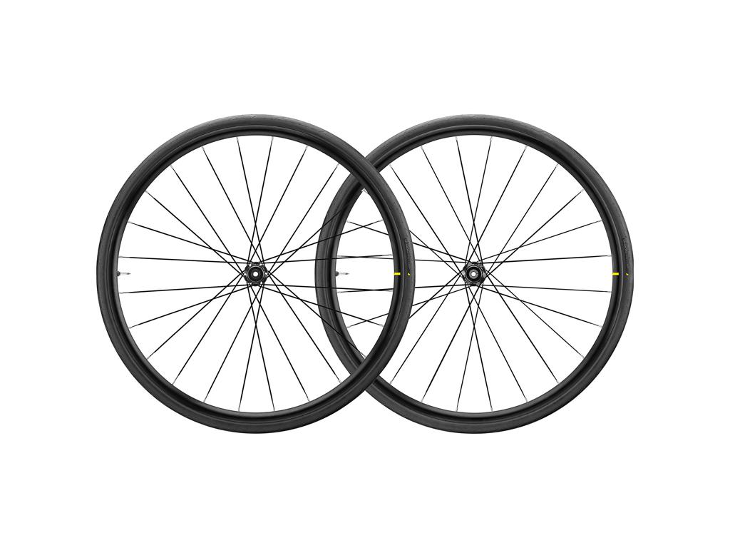 Mavic Aksium Elite UST Disc - Tubeless Hjulsæt inkl. dæk - Sram/Shimano - CL - 700x28c thumbnail