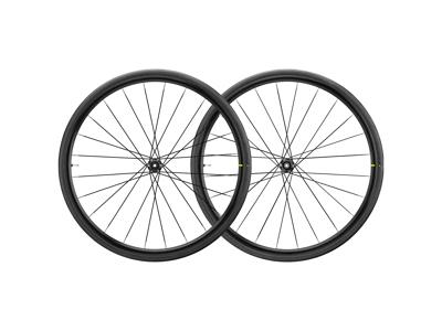 Mavic Aksium Elite UST Disc - Tubeless Hjulsæt inkl. dæk - Sram/Shimano - CL - 700x28c