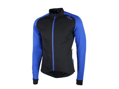 Rogelli Caluso 2.0 - Cykeltrøje - Lange ærmer - Sort/Blå