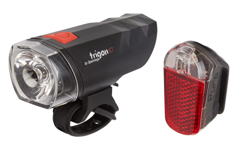 Spanninga Trigon 10 & Pyro XB - Lygtesæt | Light Set