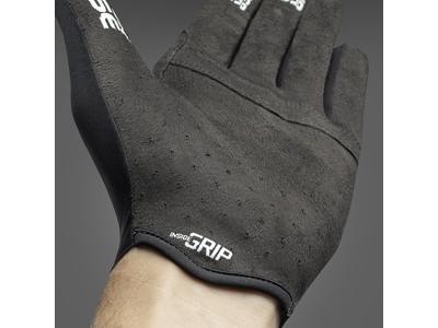 GripGrab Aerolite InsideGrip - Cykelhandske med lange fingre - Sort