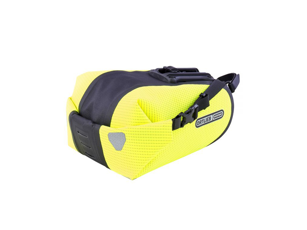 Ortlieb Two Sadeltaske - Lime/sort - 1,6 liter