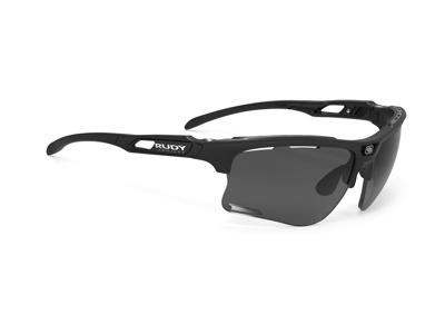 Rudy Project Keyblade - Løbe- og cykelbrille - Smoke Linser - Mat sort