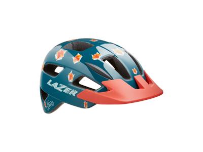 Lazer Lil Gekko - Cykelhjelm barn - Str. 46-50 cm - Fox