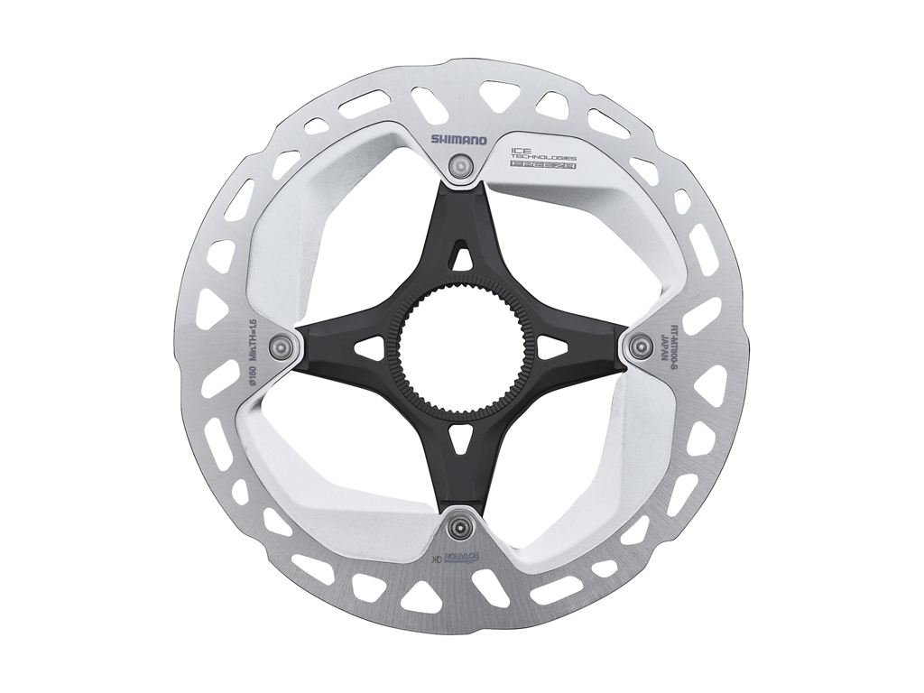 Image of   Shimano XT Rotor - Ice-Tech MT800 - 160 mm med Ice-Tech Freeza - Til center lock