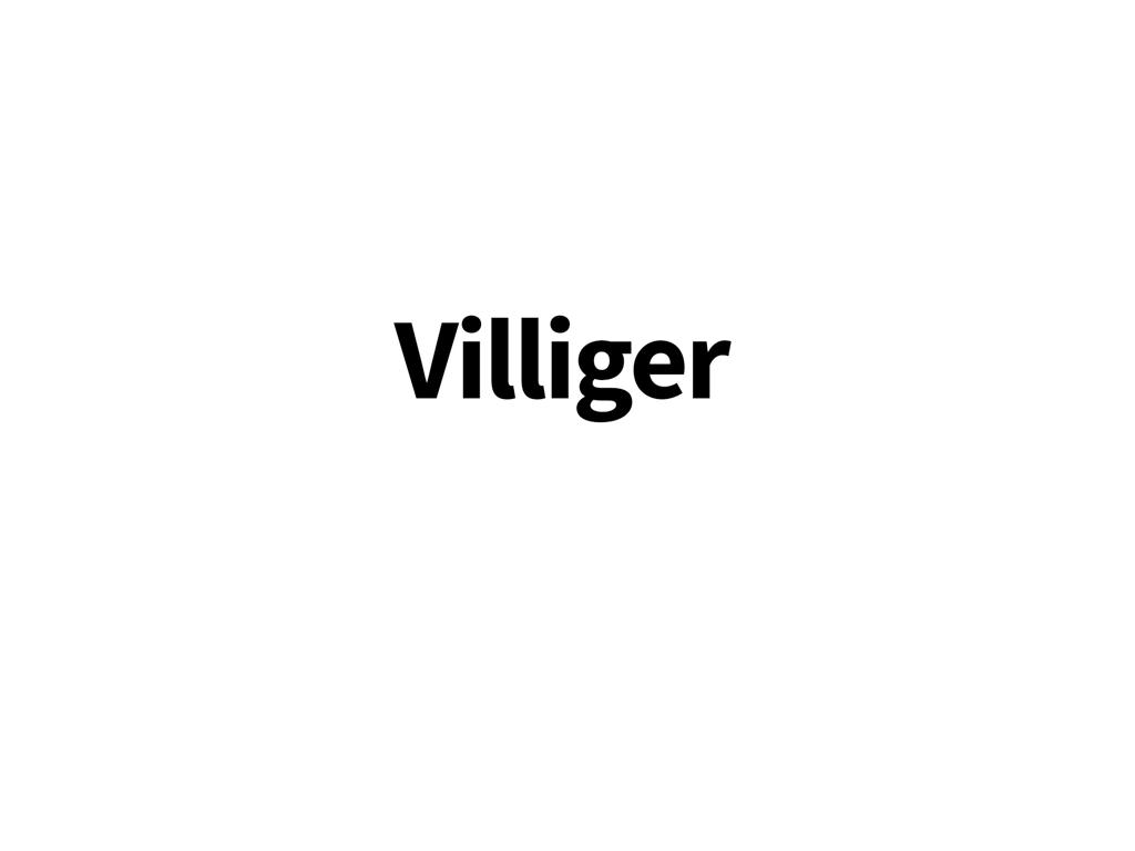 Växelöra till Villiger-cyklar
