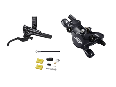 Shimano XT M8100 - Hydraulisk bremsesæt - Bag/højre - resin