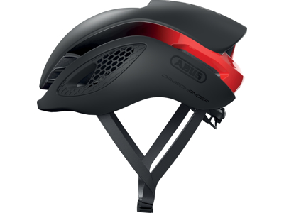 Abus GameChanger - Aero cykelhjelm - Sort/rød - Str. 58-62cm