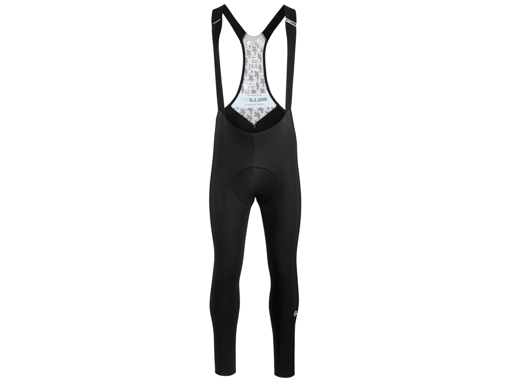Image of   Assos Mille GT Winter Bib Tight - Cykelbuks med pude - Sort - Str. L