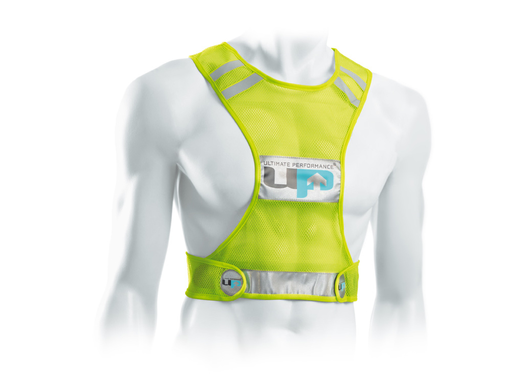 Ultimate Performance - Reflective Race Vest - Løbe/cykelvest - Onesize - Neon