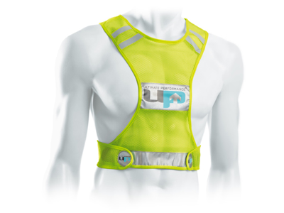 Ultimate Performance - Reflective Race Vest - Løpe-/sykkelvest - Onesize - Neon