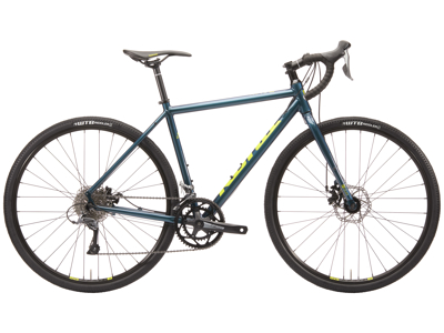 Kona Rove - Gravel Bike - 16 Gear - Blå - Str. 52 cm