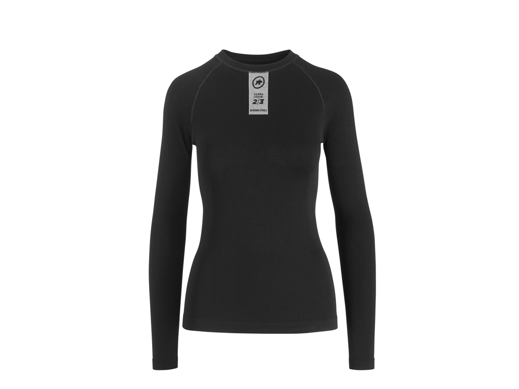 Image of   Assos Skinfoil Spring/Fall Base Layer - Svedundertrøje - L/Æ - Sort - Str. 0