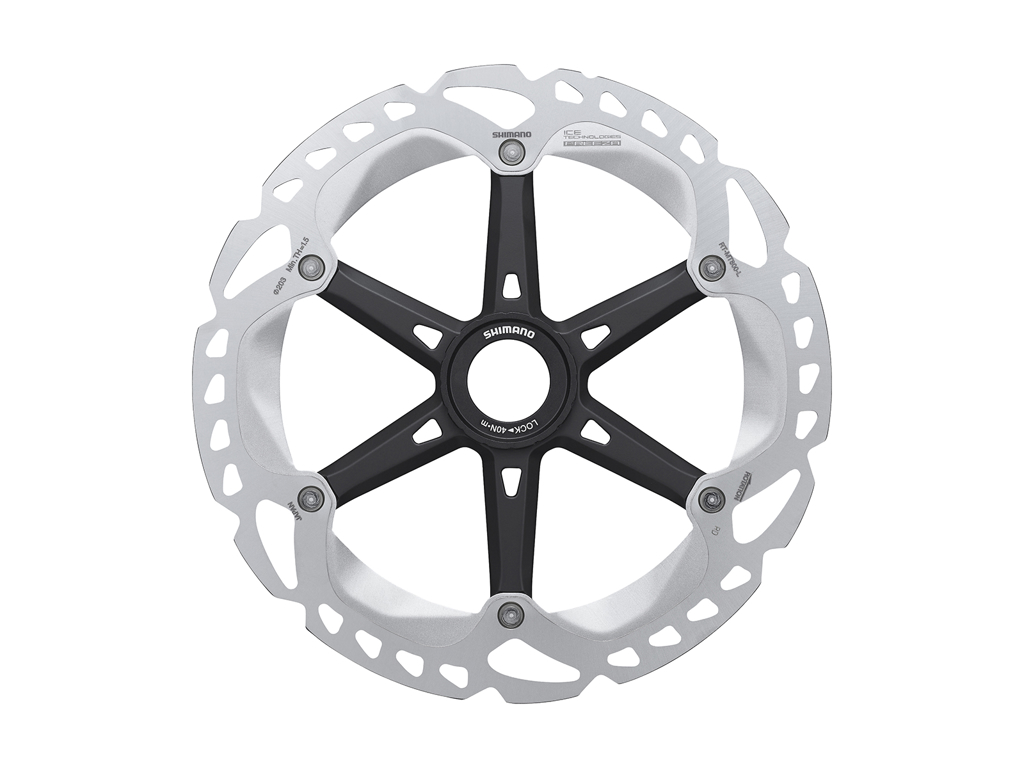 Image of   Shimano XT Rotor - Ice-Tech MT800 - 203 mm med Ice-Tech Freeza - Til center lock