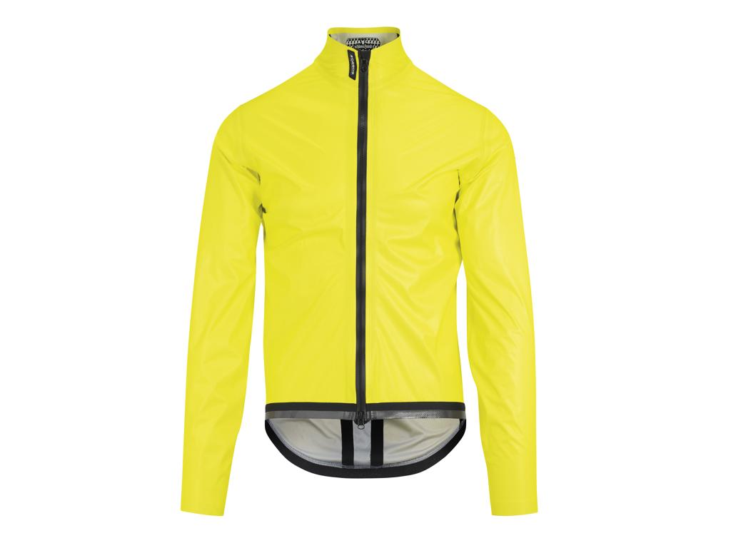 Image of   Assos Equipe RS Schlosshund Rain Jacket EVO - Cykelregnjakke - Gul - Str. L