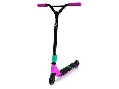 Streetsurfing Torpedo - Løbehjul til børn og begyndere - Sort/Pink