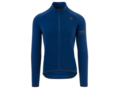 AGU Essential Thermo Jersey - Cykeltrøje L/Æ - Blå