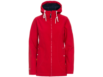 Trespass Kinsley - Dame Softshell jakke- Rød