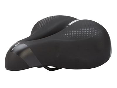 Selle Italia Zeta Comfort Gel Flow - Sadel - Sportourer - Sort