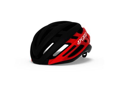 Giro Agilis Mips - Cykelhjelm - Str. 59-63 cm - Mat sort lys rød
