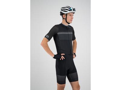 Rogelli Kalon - Cykeltrøje - Sort/Hvid
