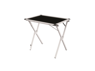 Easy Camp Rennes M - Camping spisebord - Foldbar og Justerbar - Sort