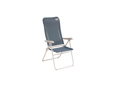 Outwell Cromer Ocean Blue - Campingstol - børstet stål - Blå