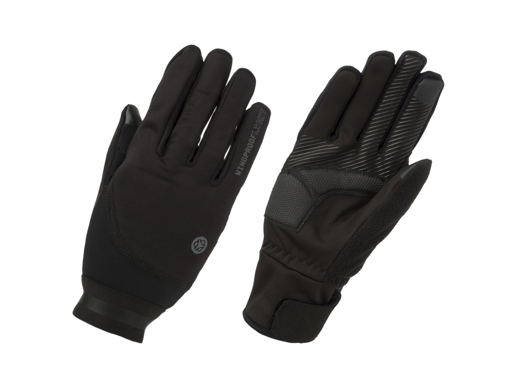 AGU Essential Light Windproof - Cykelhandsker - Sort