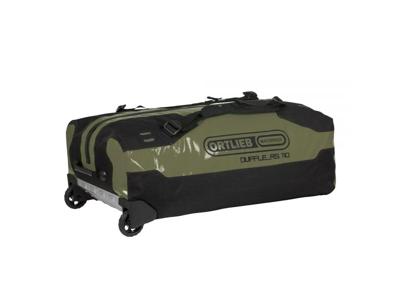 Ortlieb Duffle RS - Rejsetaske m. hjul - Grøn/sort - 110 liter