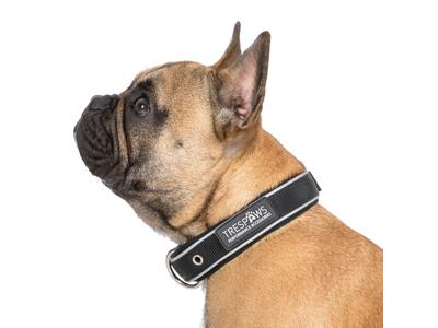 Trespaws Keira - Hundehalsbånd soft touch - Sort