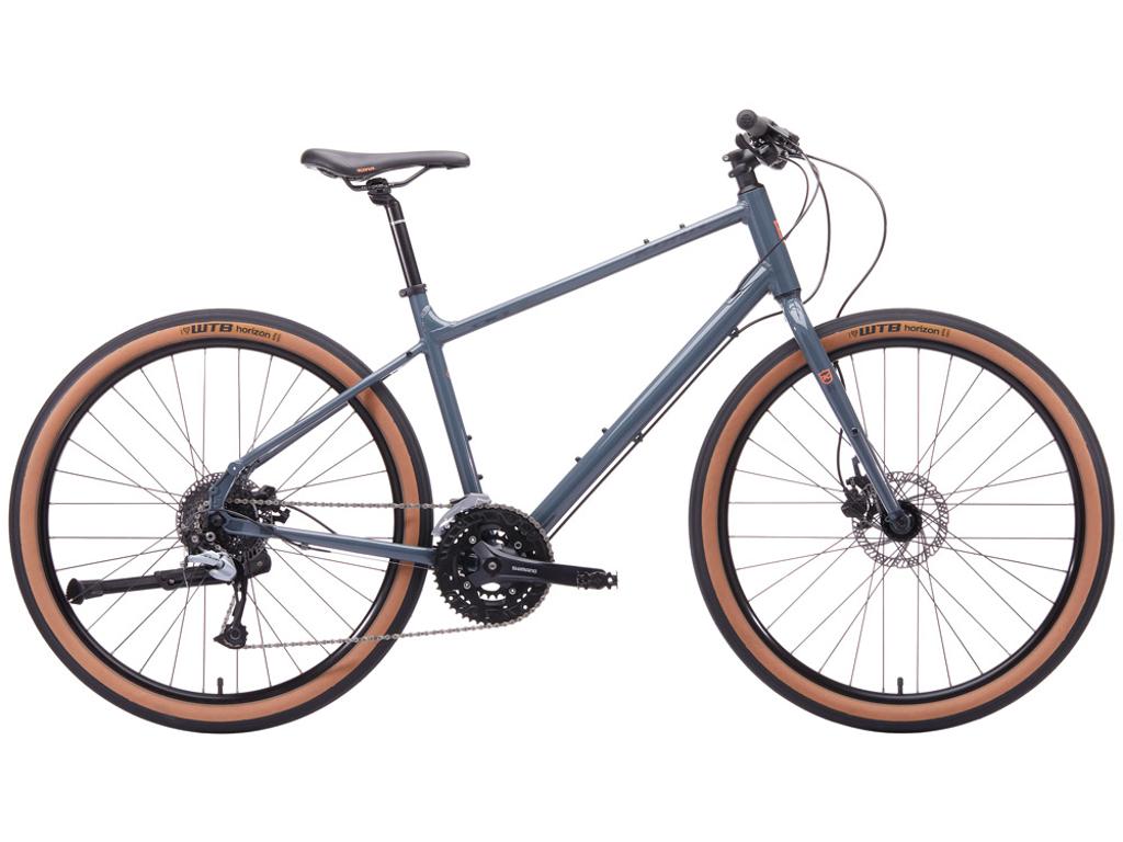 Kona Dew Plus - City Bike - 27 gear - Grå