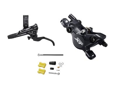 Shimano XT M8100 - Hydraulisk bremsesæt - For/venstre - resin