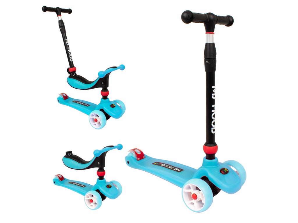 Image of   My Hood Kick'n Ride - Løbehjul - Til børn fra 1 år - Blå