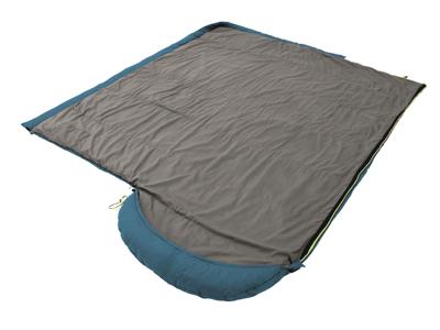Outwell Campion Lux - Sovepose - Åndbar isolering - Blå