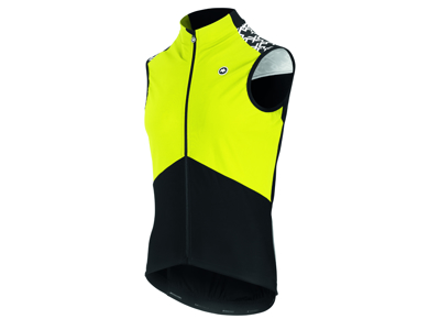 Assos Mille GT Airblock Vest Spring Fall - Cykelvest - Fluo gul