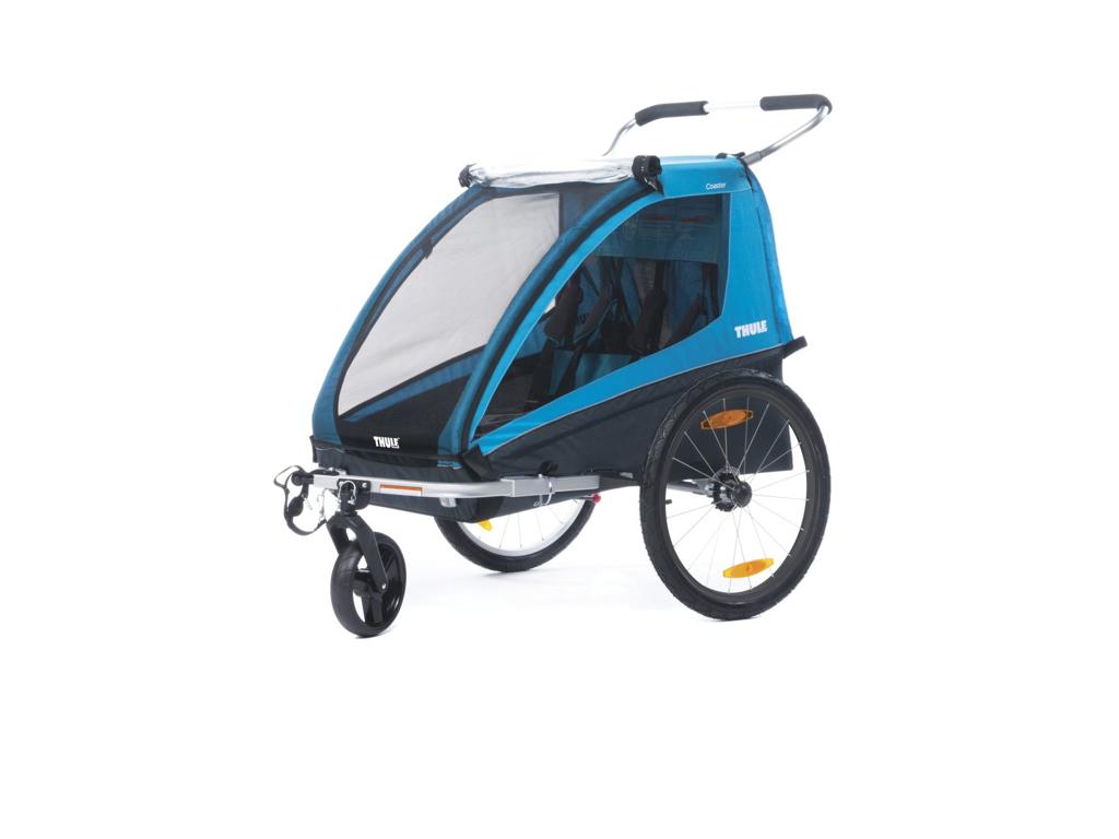 Cykelkärror och påhängscyklar