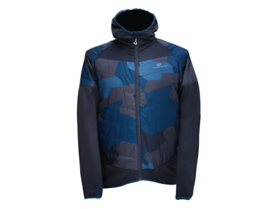 2117 OF SWEDEN Blixbo ECO - Primaloft jakke - Navy camo - Str. XL