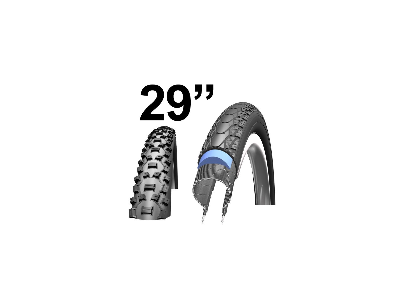 """Kanttrådsdæk til MTB cykler 29"""""""