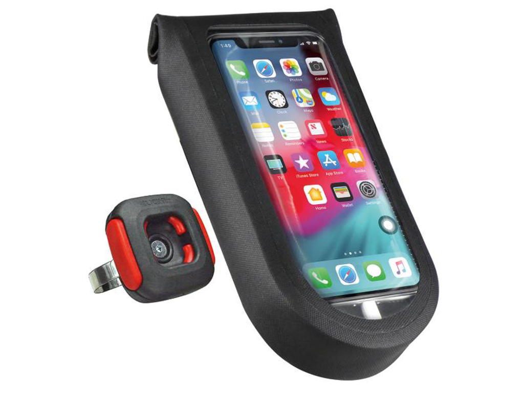 Klickfix - Mobilholder - Duratex - Sort