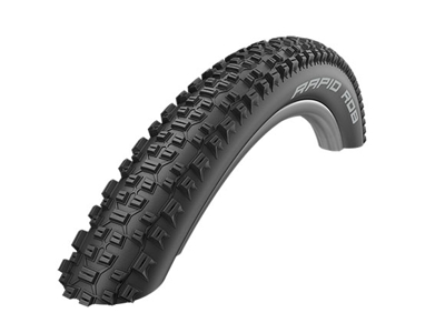 Schwalbe Rapid Rob - Kevlar-Guard Tråddæk - 27,5x2,10 (54-584) Sort