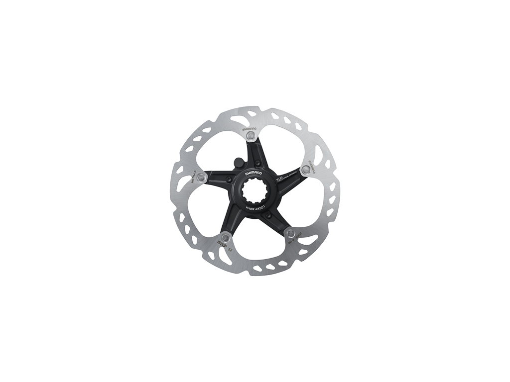 Image of   Shimano XT Rotor - Ice-Tech EM810-INT - 160 mm med Ice-Tech Freeza - Til center lock
