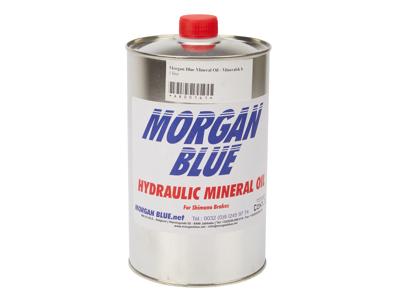 Morgan Blue Mineral Oil - Mineralsk bremseolie - 1 liter