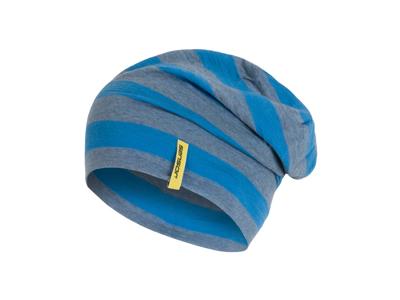 Sensor hue - Merino uld - Blå/grå